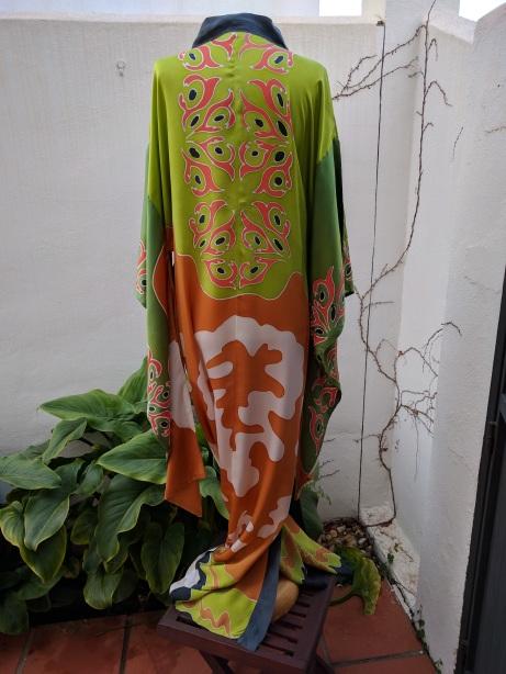 Kimono Africa (espalda)