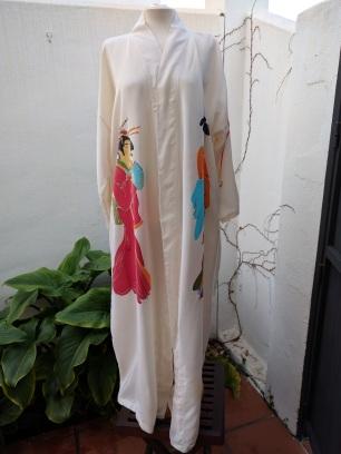 Kimono tres Geishas (frente)
