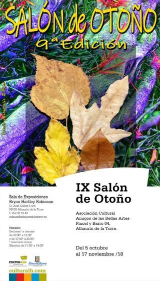 2018.1005_IX.Salon.otoño_cartel
