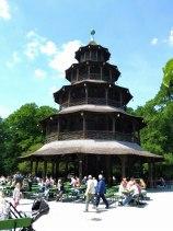 Pagoda en el Parque Ingles