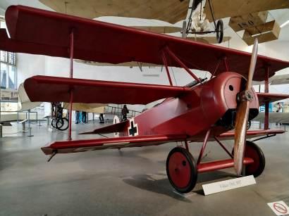 Avión Barón Rojo